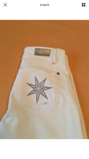 Cambio Five-Pocket Trousers white