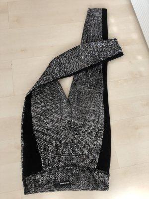 Cambio Tregging noir-blanc polyamide