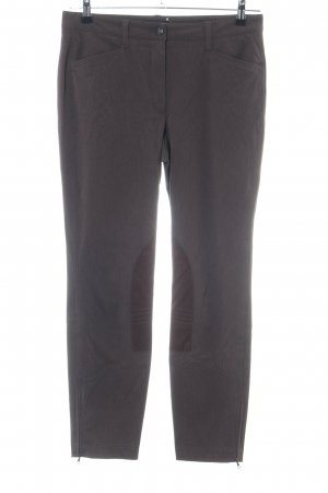 Cambio Peg Top Trousers brown casual look