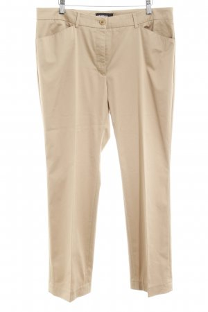 Cambio Peg Top Trousers beige '90s style