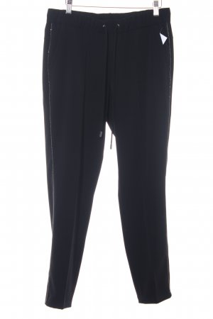 Cambio Pantalone peg-top nero stile casual