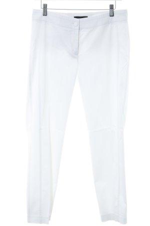 Cambio Pantalone peg-top bianco stile semplice