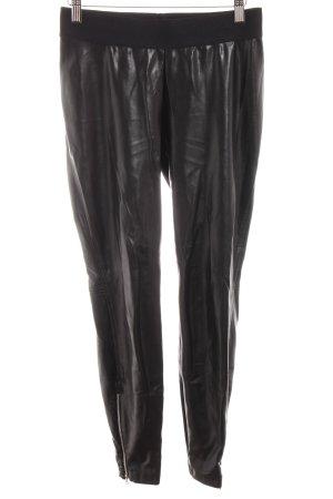 Cambio Leggings schwarz Casual-Look