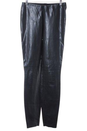 Cambio Leggings negro look efecto mojado