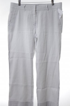 Cambio Linen Pants light grey casual look