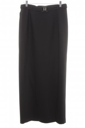 Cambio Maxi Skirt black business style