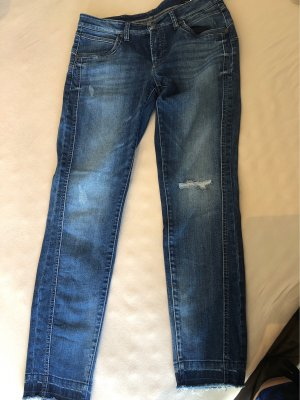 Cambio Modern Rise Jeans im Used Look