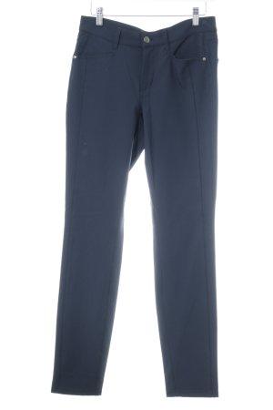 Cambio Röhrenhose dunkelblau schlichter Stil