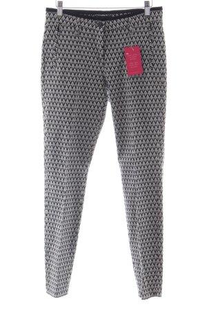Cambio Röhrenhose grafisches Muster Street-Fashion-Look