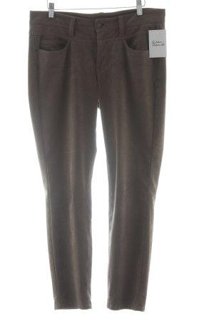 Cambio Pantalón de tubo marrón grisáceo-taupe estilo clásico