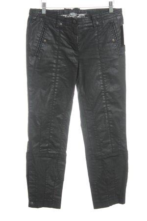 Cambio Pantalón de tubo negro Estilo ciclista