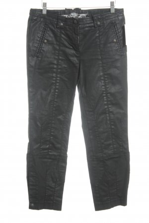 Cambio Röhrenhose schwarz Biker-Look