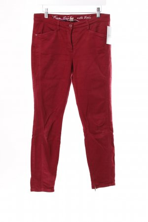 Cambio Röhrenjeans Rot
