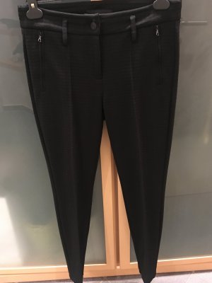 Cambio Pantalon strech noir tissu mixte