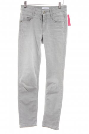 Cambio Skinny Jeans hellgrau Casual-Look