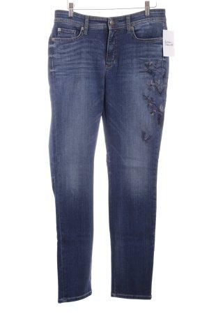 Cambio Skinny Jeans blau Casual-Look