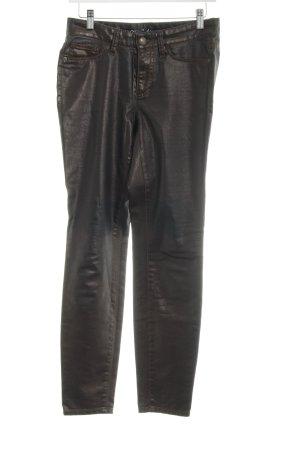 Cambio Skinny Jeans bronzefarben Antik-Look
