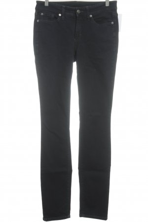 Cambio Skinny Jeans dunkelblau Street-Fashion-Look