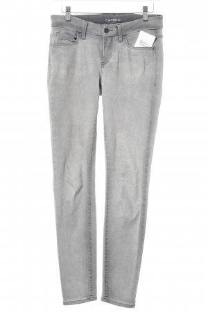 Cambio Skinny Jeans grau Casual-Look