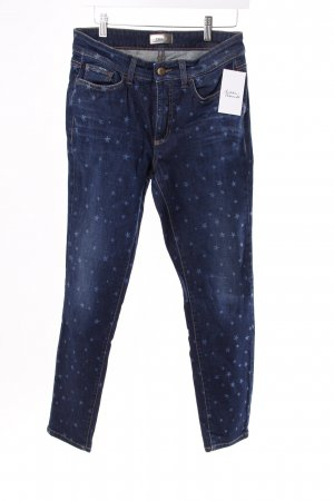 Cambio Skinny Jeans mit Sternen