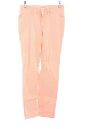 Cambio Skinny Jeans neonorange Casual-Look