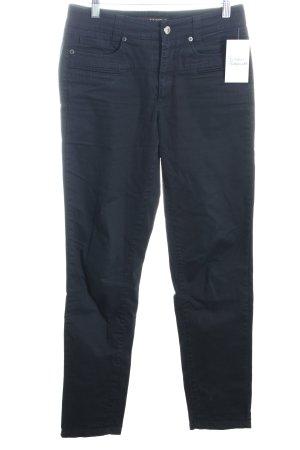 Cambio Skinny Jeans schwarz klassischer Stil