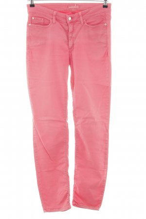 Cambio Slim Jeans pink Casual-Look