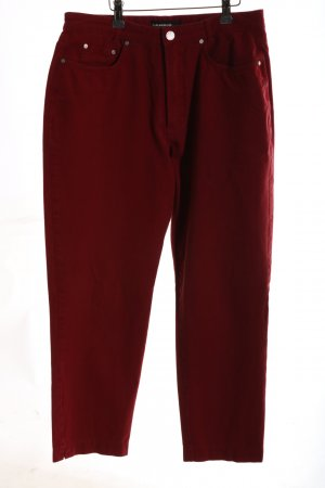 Cambio Slim Jeans rot Casual-Look