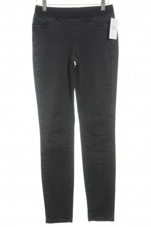 Cambio Slim Jeans dunkelgrau Casual-Look