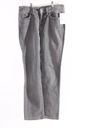 Cambio Slim Jeans grau