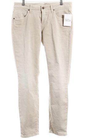 """Cambio Slim Jeans """"Liu"""" beige"""