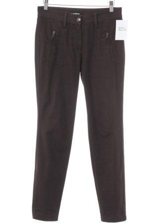 Cambio Slim Jeans schwarzbraun Casual-Look