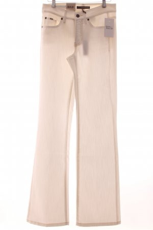 Cambio Slim Jeans weiß Eleganz-Look