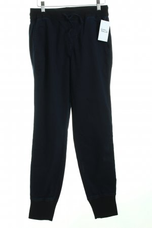 Cambio Sporthose dunkelblau-schwarz sportlicher Stil