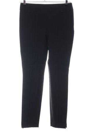 Cambio Pantalon en jersey noir élégant