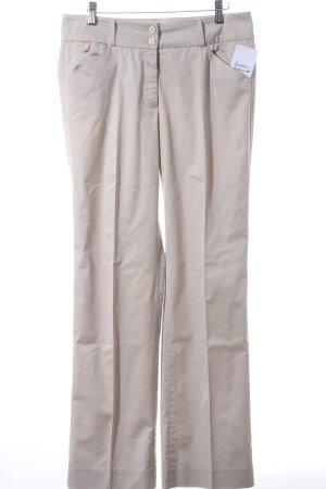 Cambio Stoffhose beige klassischer Stil