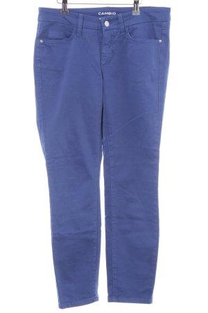Cambio Stoffhose blau Casual-Look