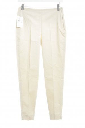 Cambio Stoffhose creme Business-Look