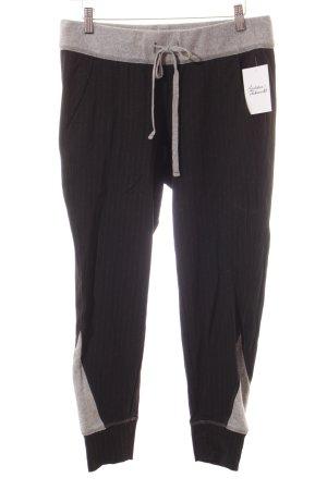 Cambio Stoffhose grau-schwarz sportlicher Stil