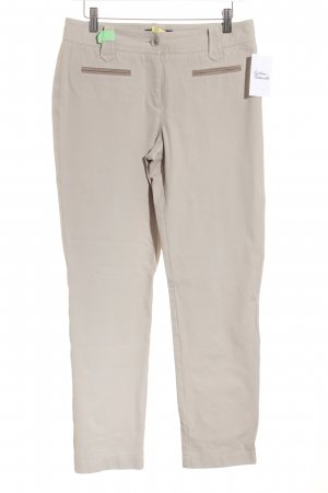 Cambio Stoffhose hellbeige-graubraun Casual-Look