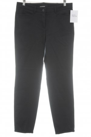 Cambio Stoffhose schwarz-dunkelblau Business-Look