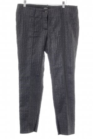 Cambio Stoffhose schwarz-dunkelblau extravaganter Stil
