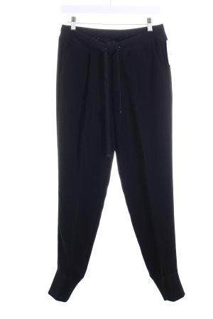 Cambio Stoffhose schwarz sportlicher Stil