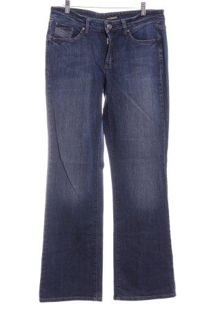 Cambio Jeans a gamba dritta blu stile casual