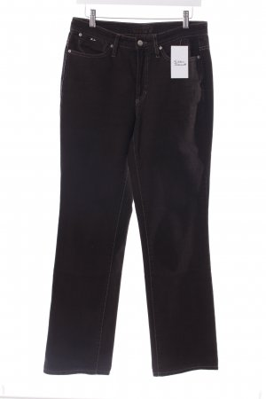 Cambio Straight-Leg Jeans braun Casual-Look