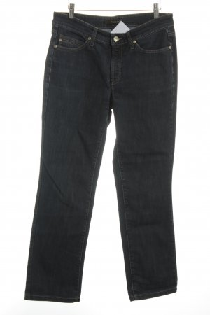 Cambio Straight-Leg Jeans dunkelblau Casual-Look