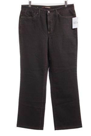 Cambio Straight-Leg Jeans dunkelbraun Casual-Look