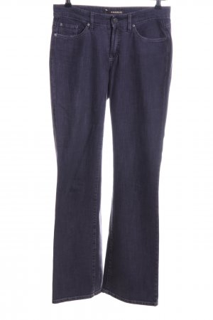 Cambio Straight-Leg Jeans blau Casual-Look