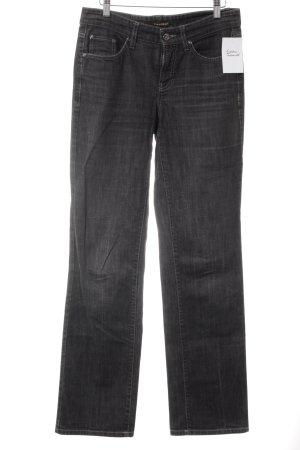 Cambio Straight-Leg Jeans grau-schwarz Casual-Look