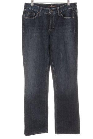 Cambio Straight-Leg Jeans mehrfarbig schlichter Stil